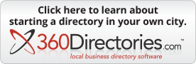 Start a 360Directory in your city.